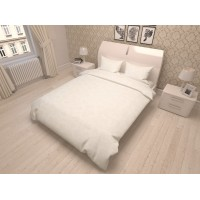 "Premium satino  komplektas ""LOVELY white"""